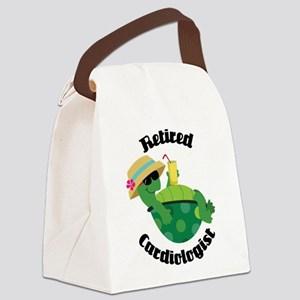 Retired Cardiologist Gift Canvas Lunch Bag