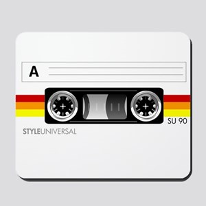 Cassette tape label 2 Mousepad