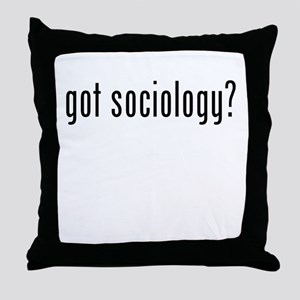 Got Sociology? Throw Pillow