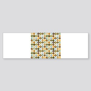 Safari Jungle Animal Pattern Sticker (Bumper)