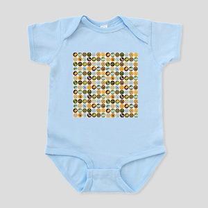 Safari Jungle Animal Pattern Infant Bodysuit