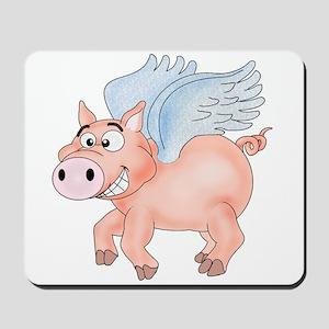 flying Pig 2 Mousepad