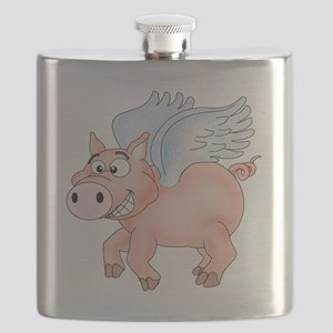 flying Pig 2 Flask