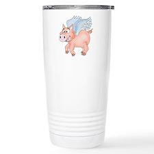 flying Pig 2 Stainless Steel Travel Mug