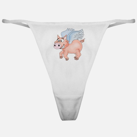 flying Pig 2 Classic Thong