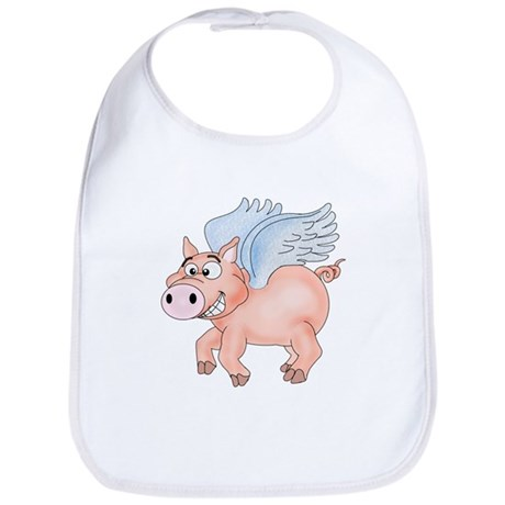 flying Pig 2 Bib
