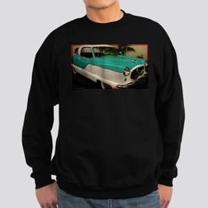 Classic car, photo, fun, Sweatshirt (dark)