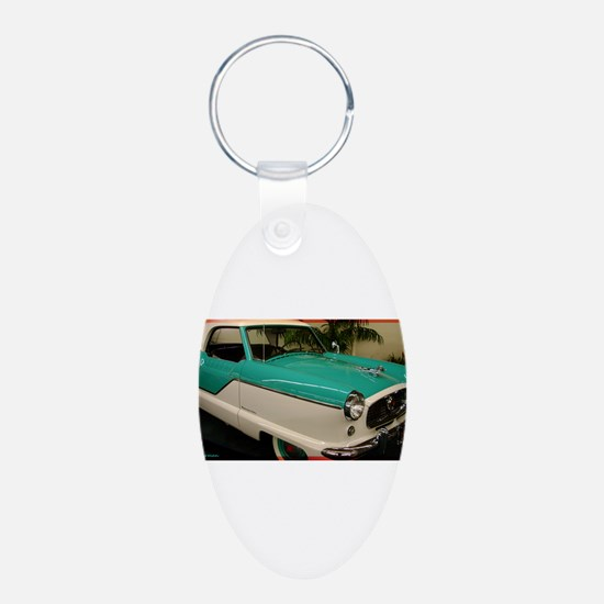 Classic car, photo, fun, Keychains