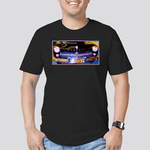 Mercury, Classic Car, Fun, Men's Fitted T-Shirt (d