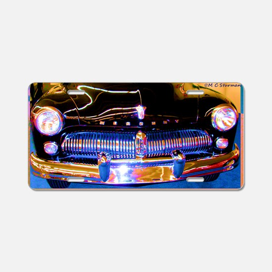 Mercury, Classic Car, Fun, Aluminum License Plate