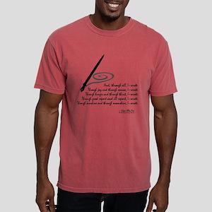 I Wrote Mens Comfort Colors Shirt