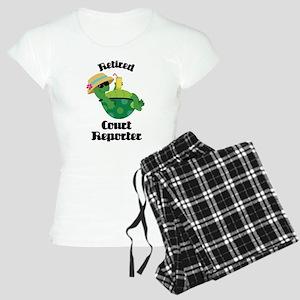 Retired Court Reporter Gift Women's Light Pajamas