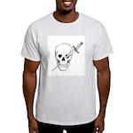 Skull & Dagger Ash Grey T-Shirt