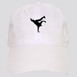 BBOY silhouette blk Cap