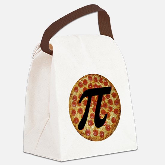 Pizza Pi Canvas Lunch Bag