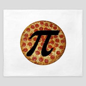 Pizza Pi King Duvet