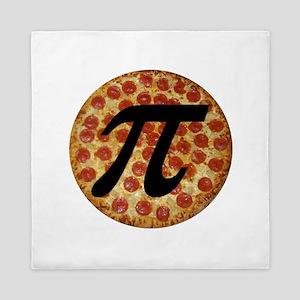 Pizza Pi Queen Duvet