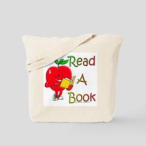 Read A Book Tote Bag