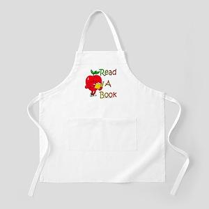 Read A Book BBQ Apron