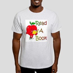 Read A Book Ash Grey T-Shirt