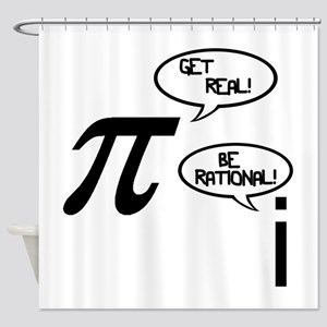 Get Real Shower Curtain