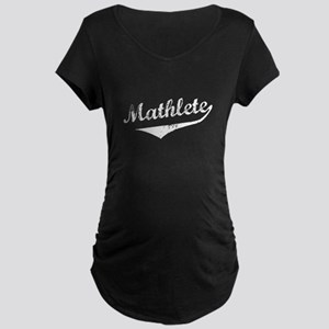 Mathlete Maternity Dark T-Shirt