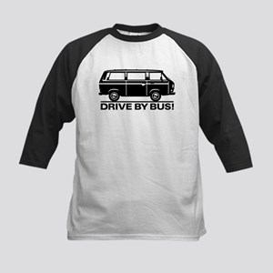 Drive by Bus 3 Kids Baseball Jersey