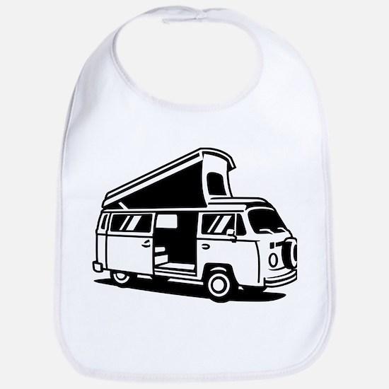 Family Camper Van Bib