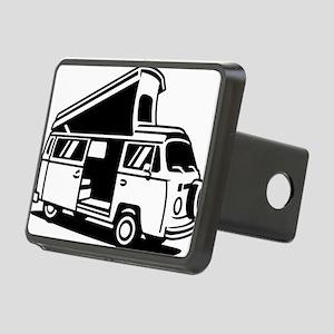 Family Camper Van Rectangular Hitch Cover