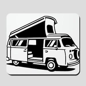 Family Camper Van Mousepad