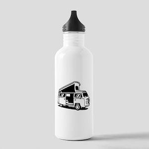 Family Camper Van Stainless Water Bottle 1.0L