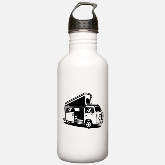 Family Camper Van Water Bottle