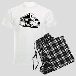 Family Camper Van Men's Light Pajamas