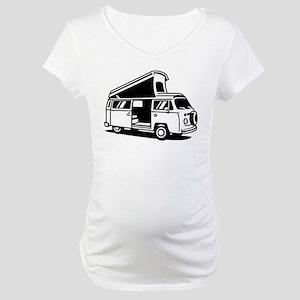 d2df9da1f4 Family Camper Van Maternity T-Shirt