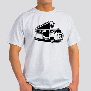 Family Camper Van Light T-Shirt