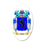 Abad 35x21 Oval Wall Decal