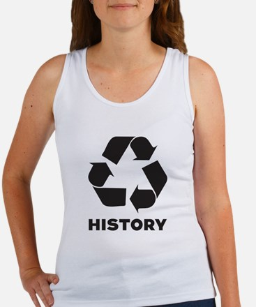 History Recycles Women's Tank Top