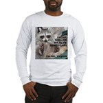 Raccoon Custom Long Sleeve T-Shirt