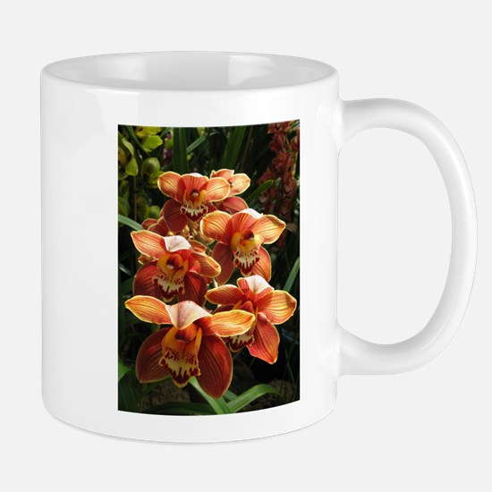 OrangeOrchidaceae.jpg Mug