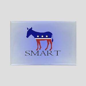 Smartass or very smart ass? Rectangle Magnet