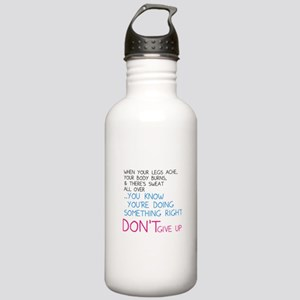 Dont Give Up Stainless Water Bottle 1.0L