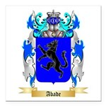 Abade Square Car Magnet 3