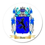Abade Round Car Magnet