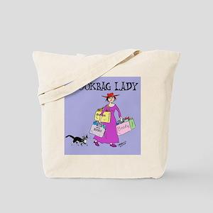 BOOKBAG LADY Tote Bag