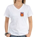 Abarca Women's V-Neck T-Shirt