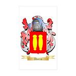 Abarca Sticker (Rectangle 50 pk)