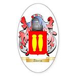 Abarca Sticker (Oval 50 pk)
