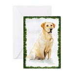 Labrador Retriever Holiday Greeting Card
