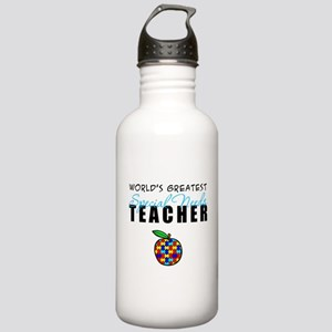 Worlds Greatest Special Needs Teacher Stainless Wa