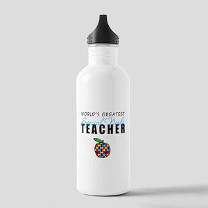 Worlds Greatest Special Needs Teacher Stainless Wa